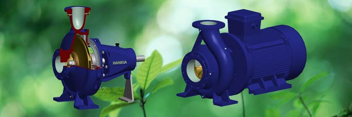 Different single stage centrifugal pumps