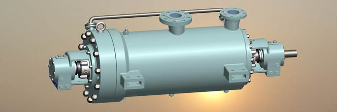 barrel casing high pressure pump